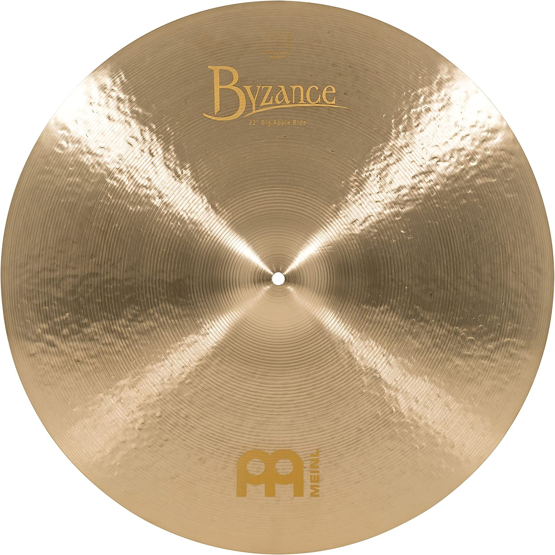 Meinl Cymbals B22JBAR Byzance 定番スタイル 22-Inch Jazz NEW ARRIVAL Big Ride Cymbal Apple