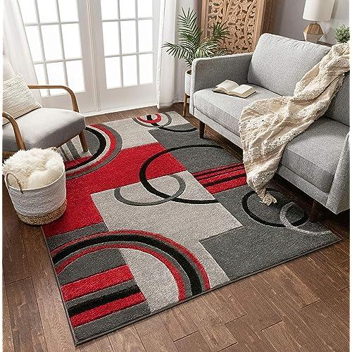 Black Grey And Red Amazon Co Uk
