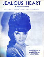 Jealous Heart (Francis, Connie) (1944) - Piano/Vocal Sheet Music