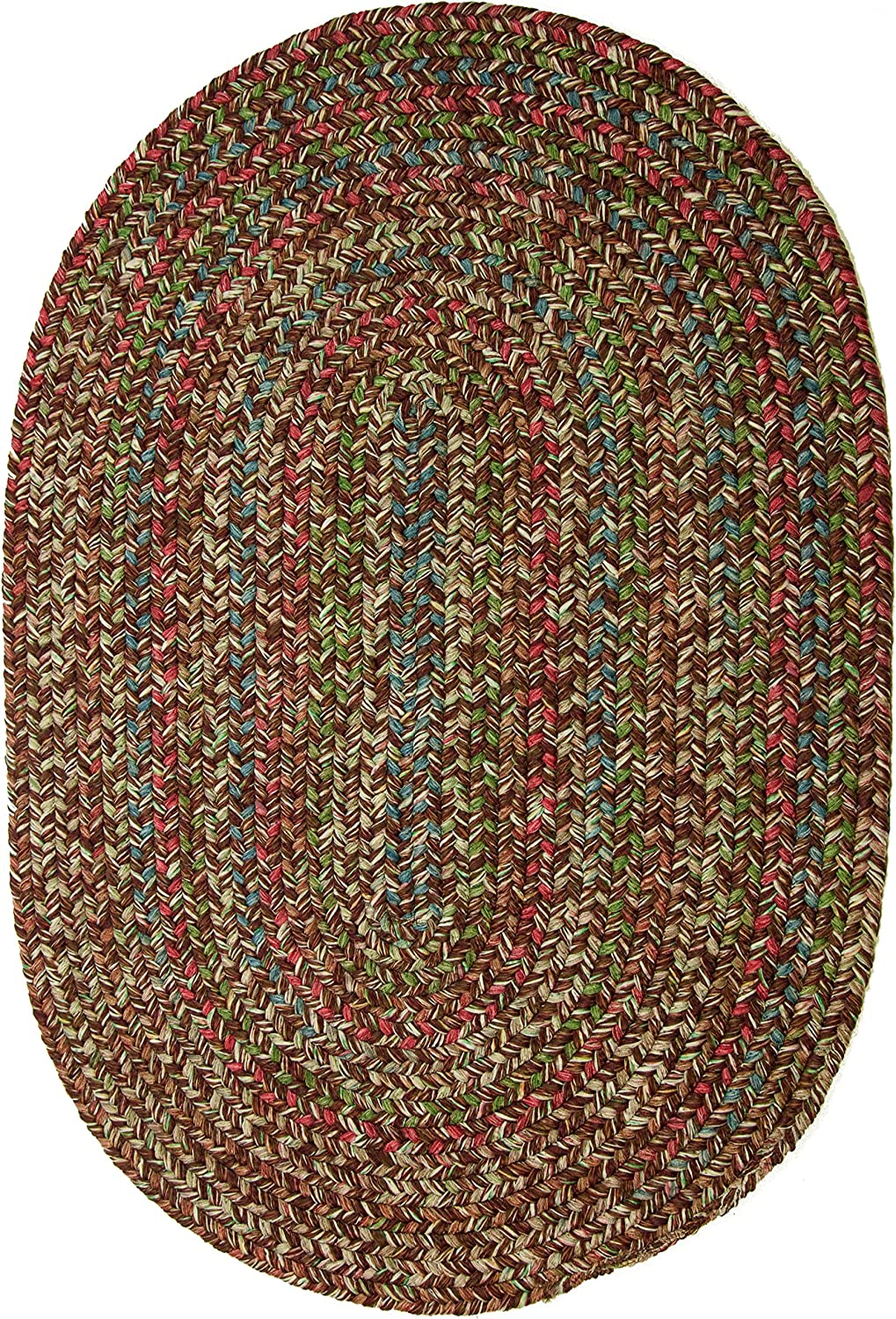 Sonya Indoor Outdoor Oval Reversible Oklahoma City Mall Braided 2 by Ranking TOP20 3-Feet Rug B