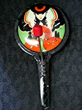 Vintage Halloween Noisemaker (Pan with clackers)
