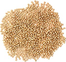 Cousin DIY Czech Glass Seed Beads, Size 11, Gold