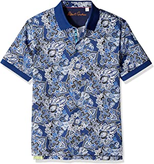 77320600b5d Robert Graham Men s Mauri Short Sleeve Polo