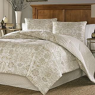 Stone Cottage Belvedere 4-Piece Comforter Set, King, Beige