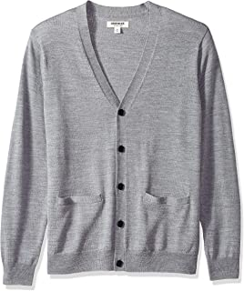 Goodthreads Men's Merino Wool Cardigan Sweater