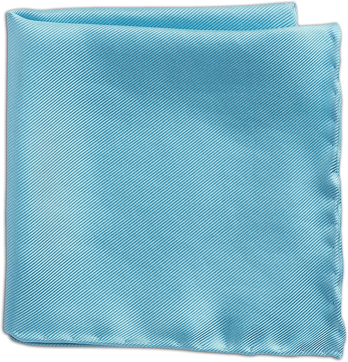 Rochester by DXL Big and Tall Solid Pocket Square, 13