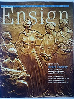 Ensign, March 2007 - Relief Society: Home, Family, and Personal Enrichment around the World/Faith and Families: An Apostle's Counsel/Hope and Rebuilding after Hurricanes