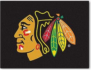 FANMATS NHL Chicago Blackhawks Nylon Face All-Star Rug
