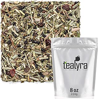 Tealyra - Echinacea ImmuneTEA - Fennel Mint Lemongrass Cinnamon - Detox Wellness Herbal Loose Leaf Tea - Ca...