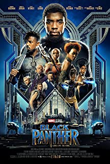 Black Panther Movie Poster Limited Print Photo Chadwick Boseman, Michael B. Jordan Size 27x40 #1