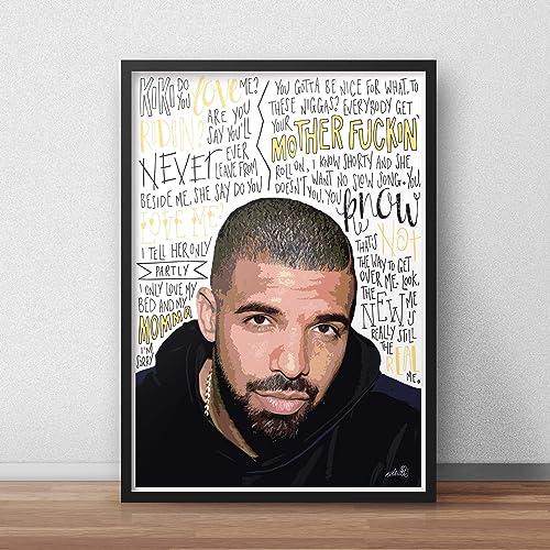 98e47e7fb2a Drake Scorpion INSPIRED Poster Print