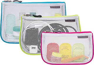 Travelon Set of 3 Assorted Piped Pouches 43108