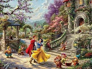 Ceaco Thomas Kinkade The Disney Collection Snow White Sunlight Jigsaw Puzzle 750-Pieces