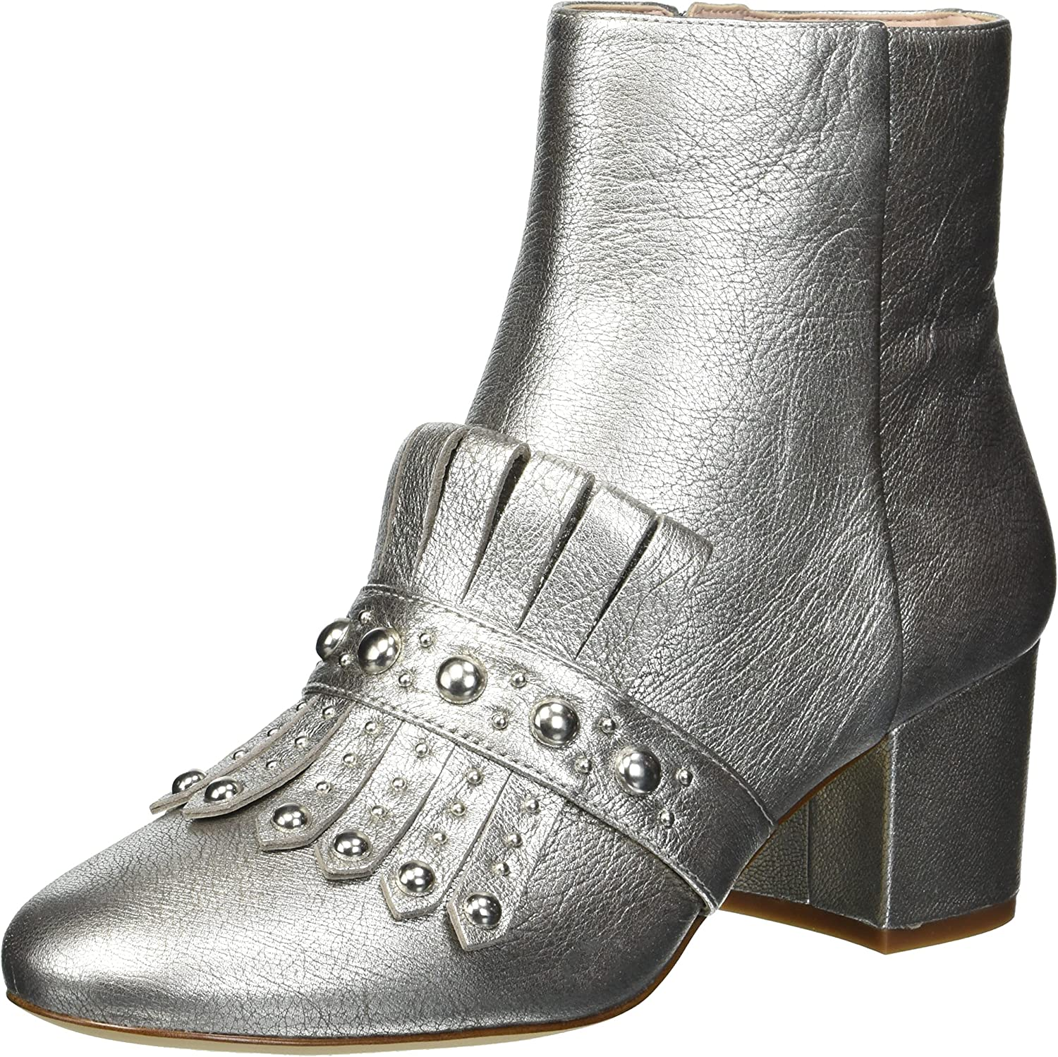 Nine West Womens Qamile Metallic Ankle Boot