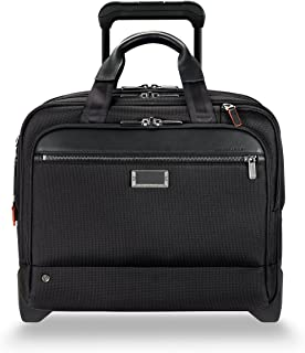 Briggs & Riley @work Medium 2-wheel Expandable Briefcase, Black