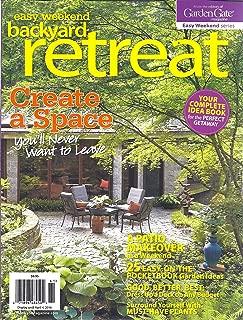 Easy Weekend Backyard Retreat (Earl Spring 2016)