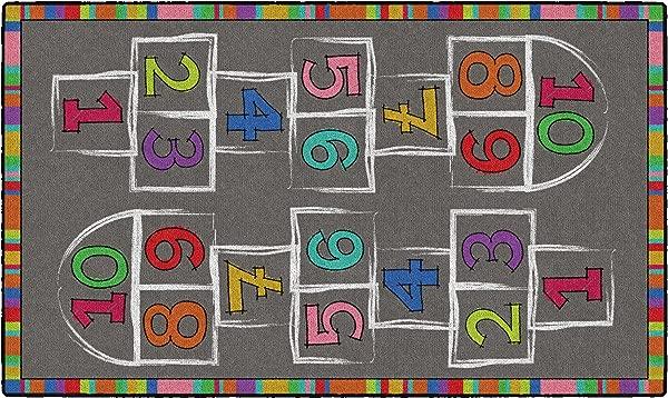 Flagship Carpets CE486 16W Hopscotch Multi