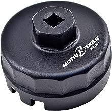 Motivx Tools Oil Filter Wrench for Toyota, Lexus, Scion 1.8 Liter Engines - Fits Prius, Prius V, Corolla, Matrix, CT200h, iM, iQ, xD