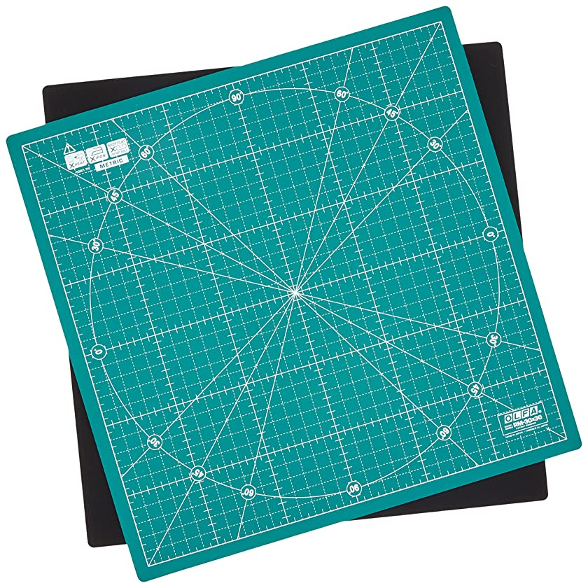 PRYM 610404 Rotating cutting mat for rotary cutters and craft knives 30 x 30 cm