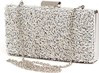Amazon.com  Silvers - Clutches   Clutches   Evening Bags  Clothing ... b9a5d3a62ba5