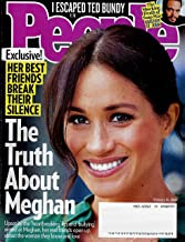 People Magazine February 18, 2019, THE TRUTH ABOUT MEGAN, Kristoff St. John, Ted Bundy