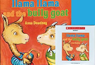 Llama Llama & the Bully Goat By Anna Dewdney Paperback Book and Audio Cd