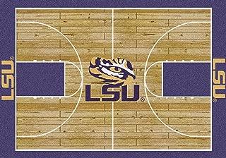 LSU Tigers Milliken NCAA Home Court Area Rug (5'4