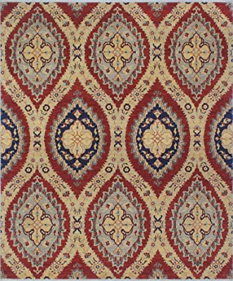 Noori Rug N5982 Yousef Naris Hand Knotted Area Rug, 80