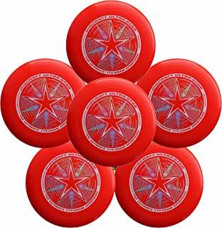 Discraft Ultra-Star 175g Ultimate Frisbee Sport Disc (6 Pack) Choose Color