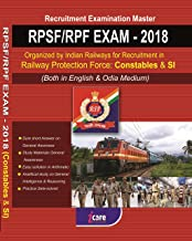 RPSF/RPF EXAM-2018 Organized by Railways for Recruitment in Railway Protection Force : Constables & SI(Both in English & O...