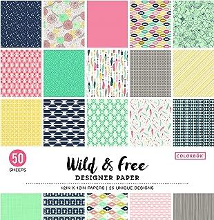 Colorbok Designer Paper Pad, 12