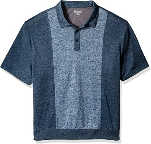Van Heusen Hommes's Taille Big and Tall Air Self Collar Polo, Faible Tide, 3X-grand