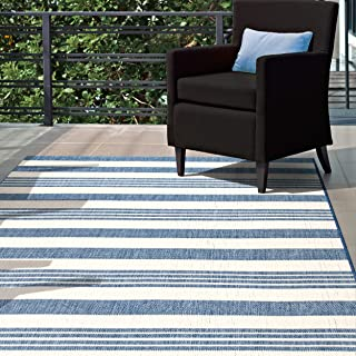 Best turquoise striped rug Reviews