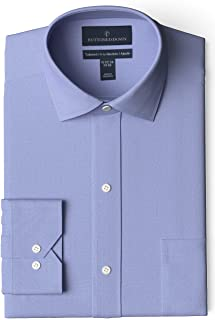 Buttoned Down Men's Tailored Fit Spread-Collar Solid Non-Iron Dress