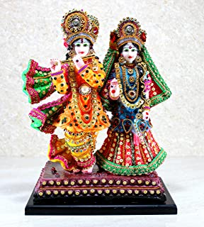 "eSplanade Radha Krishna Kishan Murti Idol Statue Sculpture (12.5"")"