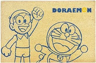 Saral Home Doraemon Coir Printed Anti Slip Door Mat- 40x60 CM …