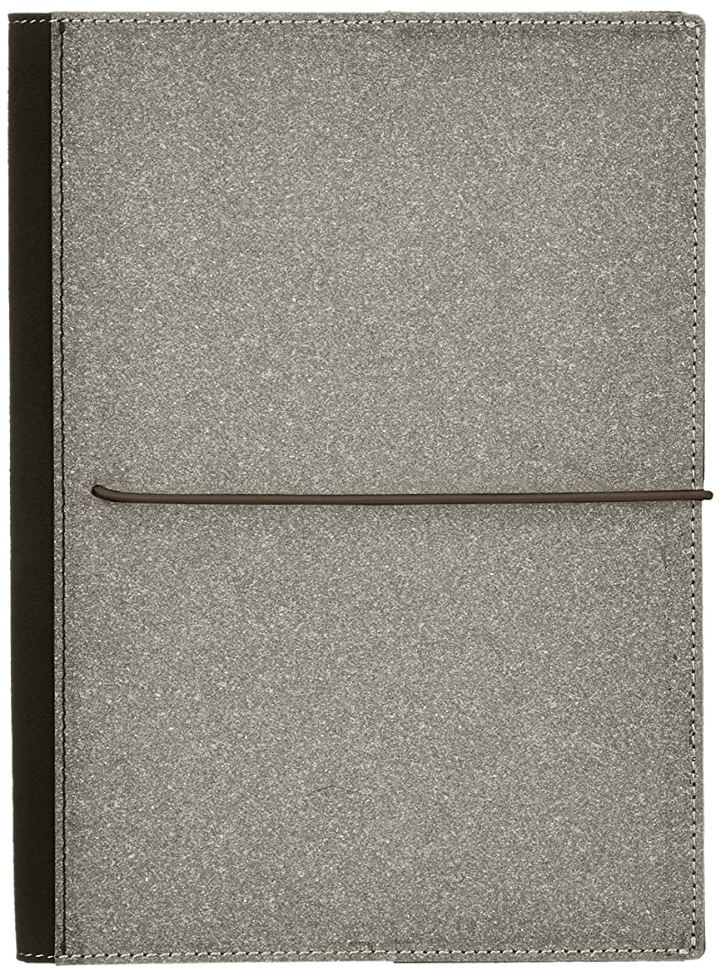 家グリーンランドバストカラーチャート カバーノートブックA5 アースブラウン
