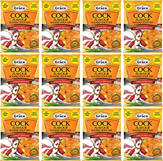 Grace Cock Flavored Soup Mix, 1.76 Oz (Pack of12)