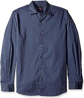 Van Heusen Men's Flex Long Sleeve Button Down Stretch Check Shirt