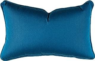 Sunbrella 12'' x 20'' Pillow With Welt & Dacron Insert Fabric, Regatta