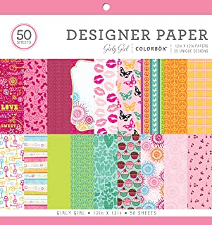 Valentines Day Design Patterned Paper Pad for Card-Making and Scrapbooking by The Stamps of Life 24 Sheets 6 x 6.5 Sweethear