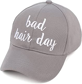 C.C Hatsandscarf Exclusives Embroidered Lettering Cotton Baseball Cap (BA-2017)