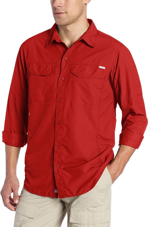 Columbia Men's Silver Ridge 100%品質保証 Sleeve Long ファクトリーアウトレット Shirt