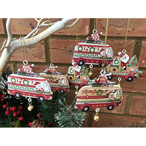 Strange Retro Vintage Christmas Decorations Amazon Co Uk Download Free Architecture Designs Rallybritishbridgeorg