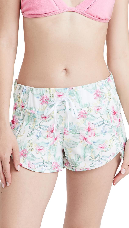 LOVESHACKFANCY Women's x Hurley Aquas Hawaiian Hibiscus 2.5 Boardshorts
