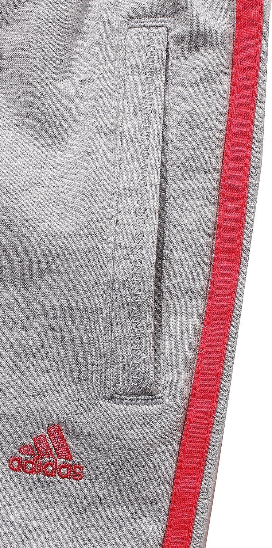adidas Junior Girls Ess Knit Pants (5T) Grey