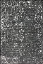 Unique Loom Sofia Collection Traditional Vintage Dark Gray Area Rug (6' x 9')