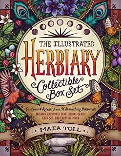 The Illustrated Herbiary Collectible Box Set: Guidance and Rituals from 36 Bewitching Botanicals; Includes Hardcover Book,...