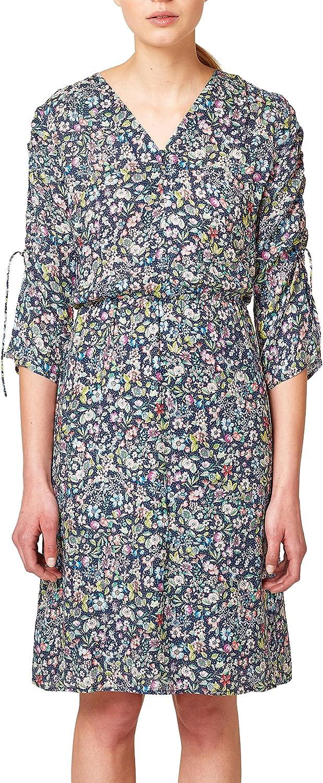 Esprit Women's Midi Floral Printed Dress