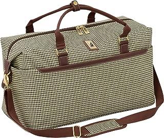 london fog plaid suitcase